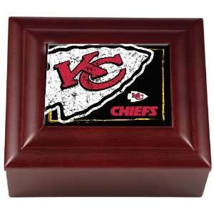 Kansas City Chiefs NFL Wood Keepsake Box