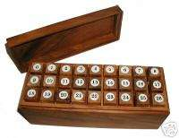 Ultimate Burr Set wood brain teaser Puzzle 26 pcs