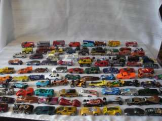HOTWHEELS & MATCHBOX CARS & TRUCKS FROM 1980 AND UP LOOK (a)