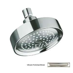 KOHLER Vibrant Polished Nickel 1 Spray Standard Showerhead