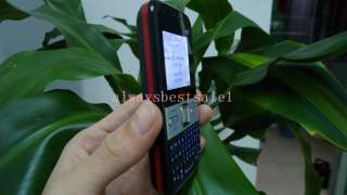 Cheap Mobile Unlocked Quad band GSM Dual Sim cell phone TV Qwerty
