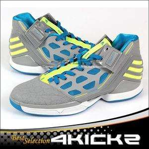 Adidas adiZero Rose 2 Grey/Electricity/Shiftblue Derrick Rose