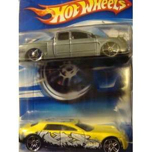 Hot Wheels {2} Pack Cadillac V 16 Yellow & Black Pr5 & The
