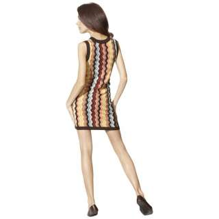 SOLD OUT Missoni Target chevron Sleeveless Sweater Dress Zig zag Small