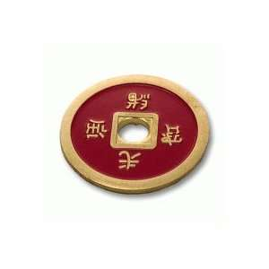 Normal Chinese Coin (Red) by Tango Toys & Games