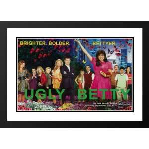 Ugly Betty 32x45 Framed and Double Matted TV Poster