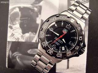TAG Heuer F1 (Formula 1) Mens Stainless Steel Watch