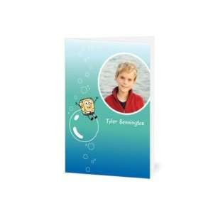 Thank You Cards   Spongebob Squarepants Bubble Ride By
