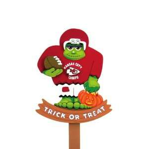 BSS   Kansas City Chiefs NFL Halloween Frankenstein Stake