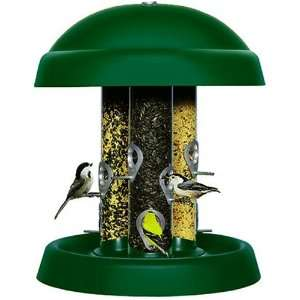 Perky Pet 321 Triple Tube Wild Bird Seed Feeder Patio, Lawn & Garden