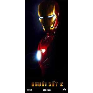 Iron Man 2 Poster Vietnamese 20x40 Robert Downey Jr