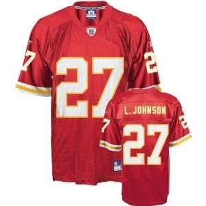 Larry Johnson #27 Kansas City Chiefs NFL Replica Player