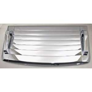 2006 2010 Hummer H3 Chrome Hood Vent Deck Cover Automotive