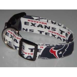 NFL Houston Texans Football Dog Collar X Large 1