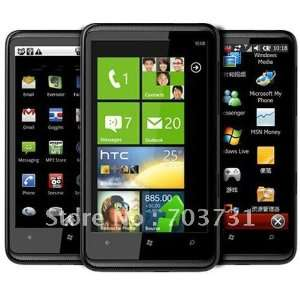 touch screen wifi+gps+5.0mp camera+android 2.2 smartphone hd7 v7