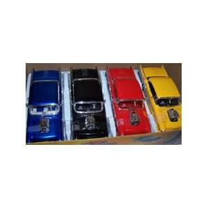 with Blown Engine 1957 Chevy Bel Air Box of 4 Colors Toys & Games