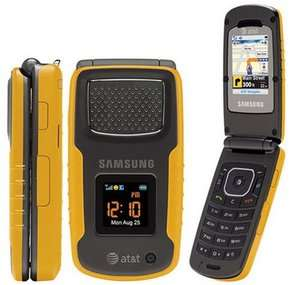 Samsung Rugby SGH A837 GSM Cellular PHONE yellow 607375045188