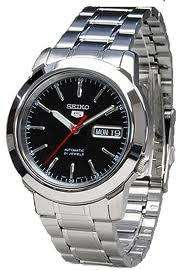 Seiko 5 Automatic Date Day Mens Watch SNKE53K1