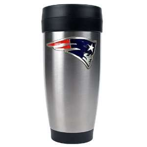 New England Patriots NFL 16oz Stainless Steel Travel Tumbler   Primary