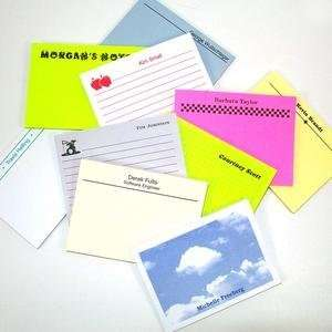 Personalized Post It Note Pads