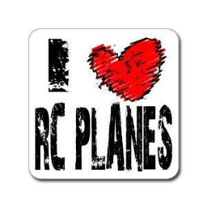 I Love Heart RC PLANES   Window Bumper Laptop Sticker