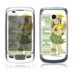 Decorative Skin Cover Decal Sticker for LG Optimus One P500 Cell Phone