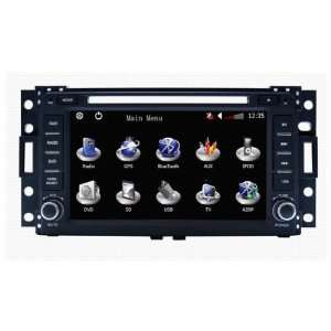 Relay 2005 2007 Indash DVD Player GPS Navigation System Car Radio with