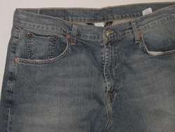 LUCKY BRAND LOOSE FIT RANCHITO STRETCH DENIM JEANS 34 L