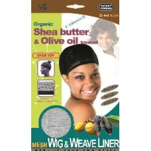 The #1 Brand Fitt] Organic Shea Butter & Olive oil treated Mesh Wig