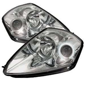 2000 2005 Mitsubishi Eclipse 00 05 CCFL Projector Headlights   Chrome