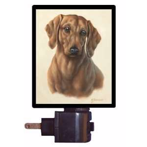 Dog Night Light   Beagle Portrait   LED NIGHT LIGHT