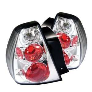 05 07 Chevy Malibu Euro Taillights   Chrome Automotive
