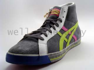 Asics Onitsuka Tiger Fabre LE Japan charcoal lime shoes