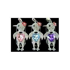 8GB Crystal Blue Bird Style USB Flash Drive with Necklace Electronics