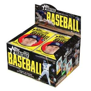 MLB 2012 Topps Heritage Retail, Pack of 24