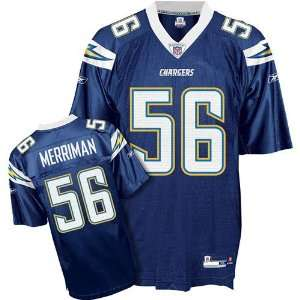 Shawne Merriman #56 San Diego Chargers NFL Replica Player Jersey By
