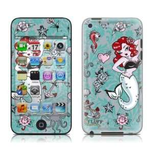 Molly Mermaid Design Protector Skin Decal Sticker for