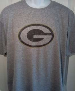 Green Bay PACKERS 1980s Oval Logo NFL Football T Shirt X Large