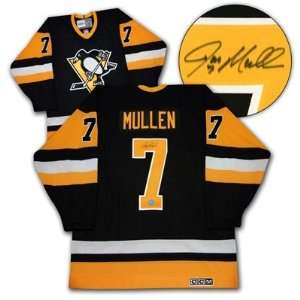 Joe Mullen Pittsburgh Penguins Autographed/Hand Signed