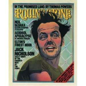 Rolling Stone Cover of Jack Nicholson (illustration