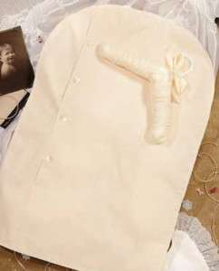 Girls Boys Christening Gown Outfit Preservation Garment Bag Muslin 26