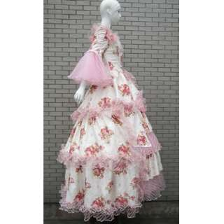 Southern Belle Lolita Masquerade Wedding Ball Gown Prom Dress