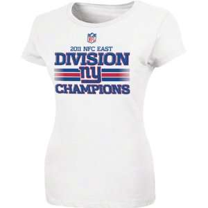 New York Giants Womens 2011 NFC East Division Champions