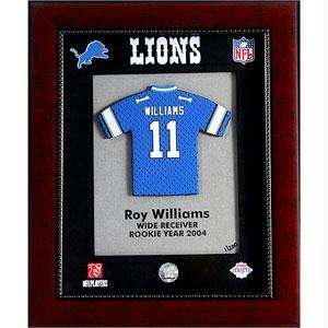 Roy Williams   Detroit Lions NFL Limited Edition Original