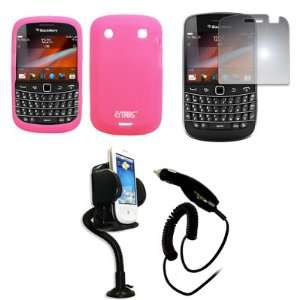 EMPIRE Pink Silicone Skin Case Cover + 360 Degree