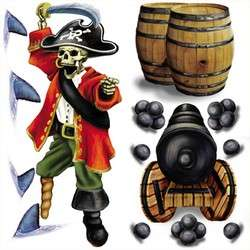12 Pirate TREASURE TREAT BOXES Birthday Party Favor