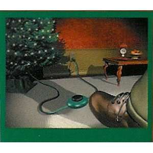 3 Outlet Foot Tapper Christmas Extension Cord 9 Ft.