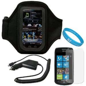 Exercise Workout Armband for AT&T Samsung Focus i917 Windows Mobile