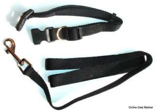 BRAND NEW DOG PUPPY PET Leash & Collar Set Combo Matching Adjustable
