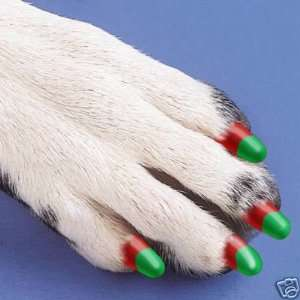 Soft Claw Paw Nail Caps DOGS K9 Size Small HOLIDAY